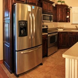 Kitchen-Appliance-Cabinet-Refrigerator
