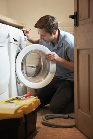 washing machine repair service technician